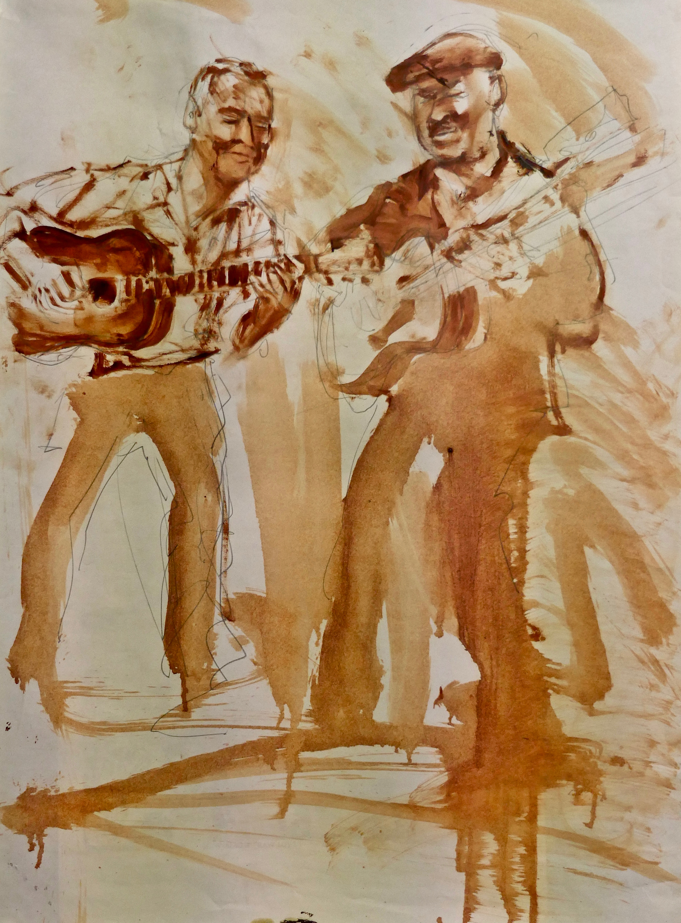 George Leitenberger und Roddy McKinnon